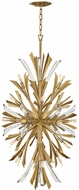 Fredrick Ramond FR40907BNG Vida Modern Burnished Gold Hanging Light