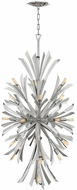 Fredrick Ramond FR40907GG Vida Contemporary Glacial Pendant Light Fixture