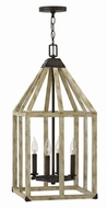 Fredrick Ramond FR41203IRR Emilie Iron Rust Foyer Lighting