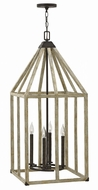Fredrick Ramond FR41208IRR Emilie Iron Rust Foyer Light Fixture