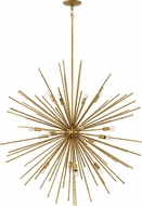 Fredrick Ramond FR43016HBZ Tryst Modern Hammered Bronze 42  Lighting Chandelier