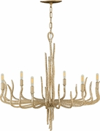 Fredrick Ramond FR43416CPG Spyre Contemporary Champagne Gold Chandelier Lamp
