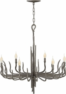 Fredrick Ramond FR43416MMB Spyre Modern Metallic Matte Bronze Chandelier Light