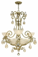Fredrick Ramond FR44100SLF Barcelona Traditional 34 Inch Diameter 3 Lamp Lighting Chandelier