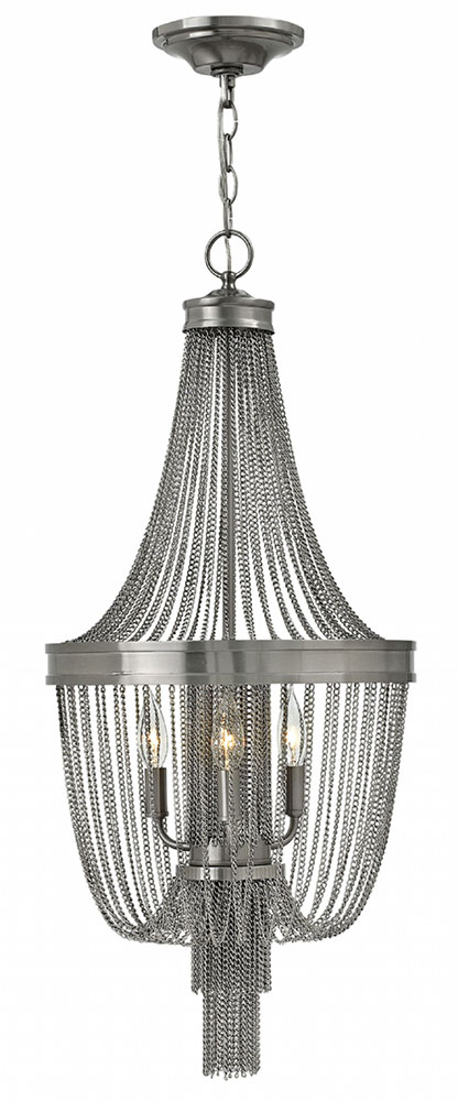 Fredrick Ramond Fr44304bni Regis Brushed Nickel Foyer Lighting Loading Zoom