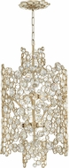 Fredrick Ramond FR44816SLF Anya Silver Leaf Entryway Light Fixture