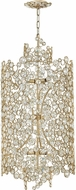 Fredrick Ramond FR44819SLF Anya Silver Leaf Foyer Lighting