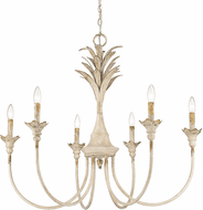 Golden Lighting 0846-6 AI Lillianne Traditional Antique Ivory Chandelier Lighting