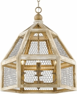Golden Lighting 0863-4P-BC Granger Burnished Chestnut Pendant Light