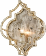 Golden Lighting 0872-WSC-AI Ravina Antique Ivory Wall Sconce