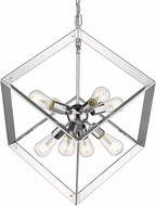Golden Lighting 2083-8P-CH Architect Modern Chrome Lighting Pendant