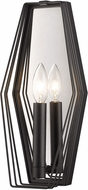 Golden Lighting 2087-1W14-NB Gia Contemporary Natural Black Lamp Sconce