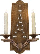 Golden Lighting 3071-WSC GG Athena Traditional Grecian Gold Halogen Candle Wall Sconce Lighting