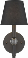 Golden Lighting 3500-1W-RBZ-GRM Waverly Rubbed Bronze Wall Lamp