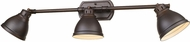 Golden Lighting 3602-VL3-RBZ-RBZ Duncan Rubbed Bronze Bath Lighting Sconce