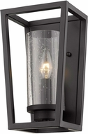 Golden Lighting 4309-WSC-BLK-BLK-SD Mercer Modern Matte Black Sconce Lighting