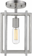 Golden Lighting 6070-1SF-PW-PW Tribeca Contemporary Pewter Ceiling Light Fixture