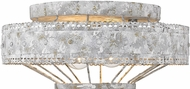 Golden Lighting 7856-FM-OY Ferris Old World Oyster Ceiling Lighting Fixture