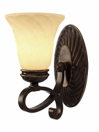 Golden Lighting 8106-BA1-CDB Torbellino Cordoban Bronze Lamp Sconce