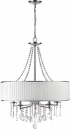 Golden Lighting 8981-5-BRI Echelon Chrome Chandelier Light
