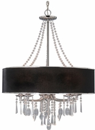 Golden Lighting 8981-5-GRM Echelon Chrome Chandelier Lighting