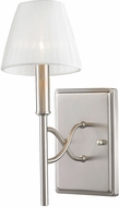 Golden Lighting 9106-1W-PW-PCS Taylor Contemporary Pewter Sconce Lighting