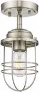 Golden Lighting 9808-SF-PW Seaport Pewter Ceiling Light