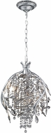 Golden Lighting 9903-3P-MSI Autumn Twilight Mystic Silver Halogen Pendant Hanging Light