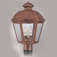 Hi-Lite Manufacturing H-1125-P Traditional 16 Tall Outdoor Post Light Fixture
