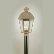 Hi-Lite Manufacturing H-1145-P Traditional 21 Tall Outdoor Lamp Post Light Fixture