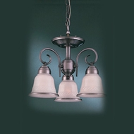 Hi-Lite Manufacturing H-11992-SF Hamilton 11  Tall Mini Chandelier Lighting