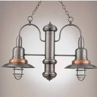 Hi-Lite Manufacturing H-1352-D Harbor Nautical 12  Wide Mini Lighting Chandelier