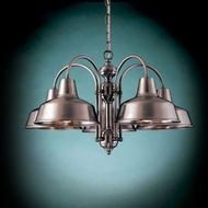Hi-Lite Manufacturing H-15108-5D Palm Bay 14 Tall Ceiling Chandelier