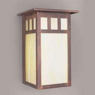 Hi-Lite Manufacturing H-241-B Craftsman 10  Tall Exterior Wall Sconce Lighting