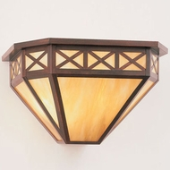 Hi-Lite Manufacturing H-3172-B 18  Wide Exterior Wall Sconce
