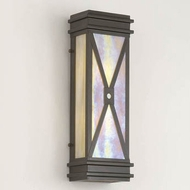 Hi-Lite Manufacturing H-3173-B 18  Tall Outdoor Wall Lamp