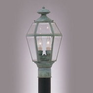 Hi-Lite Manufacturing H-555-P Traditional 16 Tall Outdoor Lighting Post Light