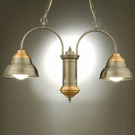 Hi-Lite Manufacturing H-7312-D Lakeside 15 Tall Mini Hanging Chandelier