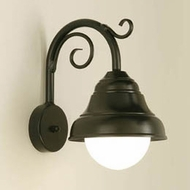 Hi-Lite Manufacturing H-7320-B-9-OP Lakeside 13 Tall Wall Light Sconce