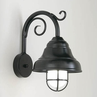 Hi-Lite Manufacturing H-7330-B-9-FR Lakeside 9 Wide Wall Light Sconce