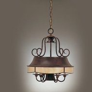 Hi-Lite Manufacturing H-7408-D Traditional 22 Tall Mini Chandelier Light