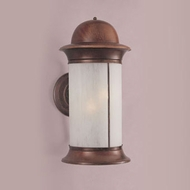 Hi-Lite Manufacturing H-771-B-CLD 12  Wide Exterior Sconce Lighting