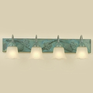Hi-Lite Manufacturing H-8164-B Traditional 28  Wide 4-Light Bath Sconce