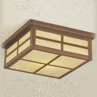 Hi-Lite Manufacturing H-8181-F Craftsman 11  Wide Outdoor Ceiling Lighting Fixture