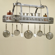 Hi-Lite Manufacturing H-86Y-D 31  Wide Pot Rack Island Lighting
