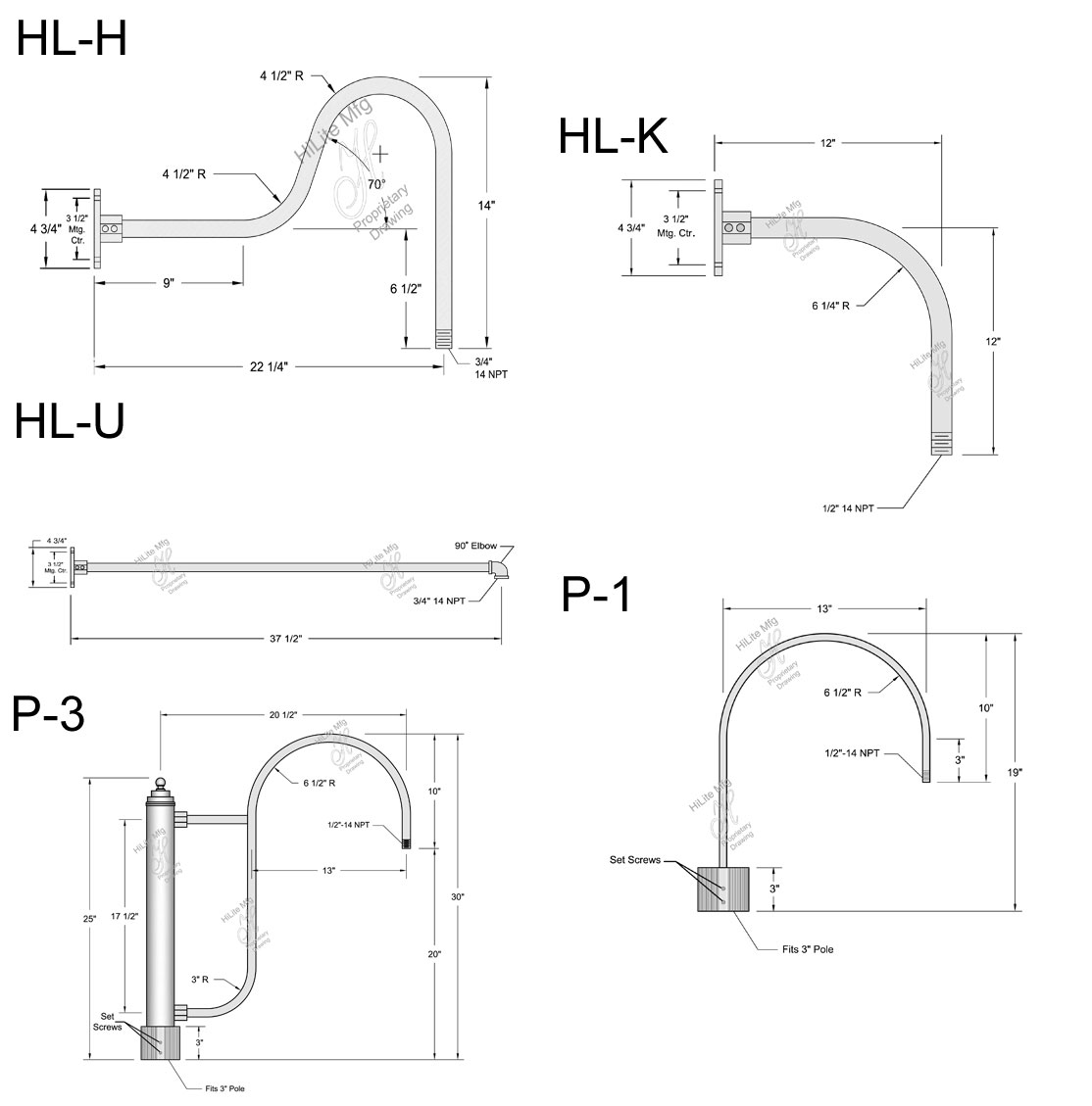 Hi Lite Manufacturing Rlm Warehouse Shade Outdoor Wall Sconce Hlt Jesco Led Wiring Diagrams