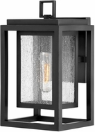 Hinkley 1000BK Republic Modern Black Outdoor 12  Wall Sconce