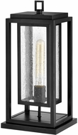 Hinkley 1007BK Republic Contemporary Black Exterior Pier Mount