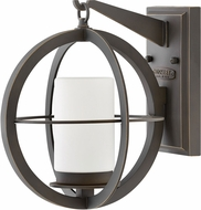 Hinkley 1010OZ Compass Contemporary Oil Rubbed Bronze Outdoor Wall Sconce