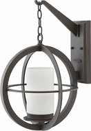 Hinkley 1015OZ Compass Contemporary Oil Rubbed Bronze Outdoor Wall Lighting